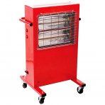 Heavy Duty 3kW Portable Commercial Halogen Garage Heater