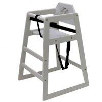 Kids Wooden High Chair Natural 163 26 99 Oypla