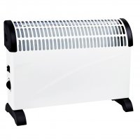 2kw 2000w Portable Electric Fan Floor Heater Hot Amp Cold