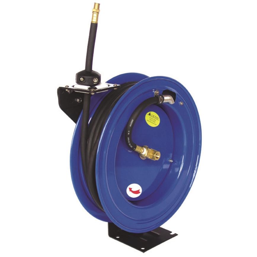 50ft 15m Spring Retractable 3 8 Air Line Compressor Hose