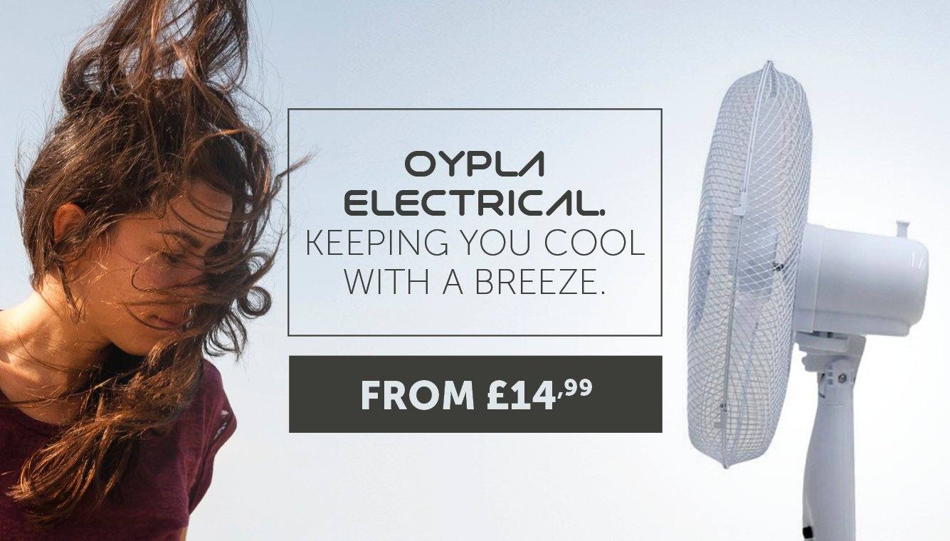 Oypla Electrical - Keeping You Cool With A Breeze