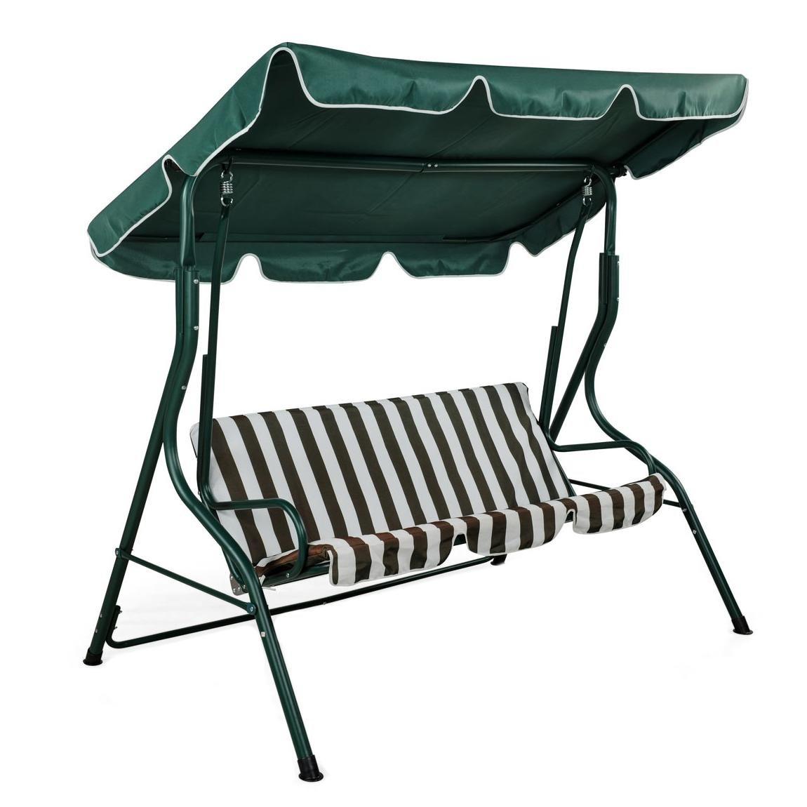 Garden Swing Bench Chair For 3 Person Oypla Stocking The Very Best In Toys
