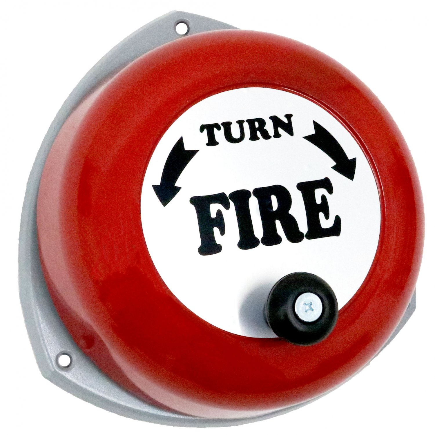 Bells Fire Safety : Rotary hand fire safety bell manual alarm £ oypla