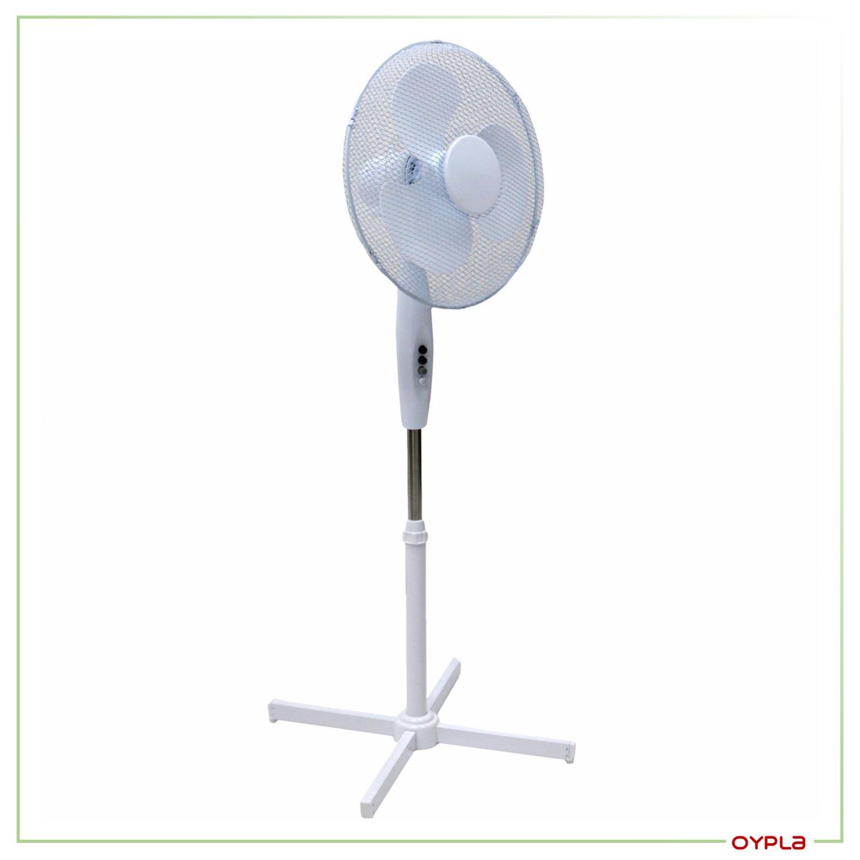Pedestal Electric Heaters : Oscillating pedestal electric fan £ oypla