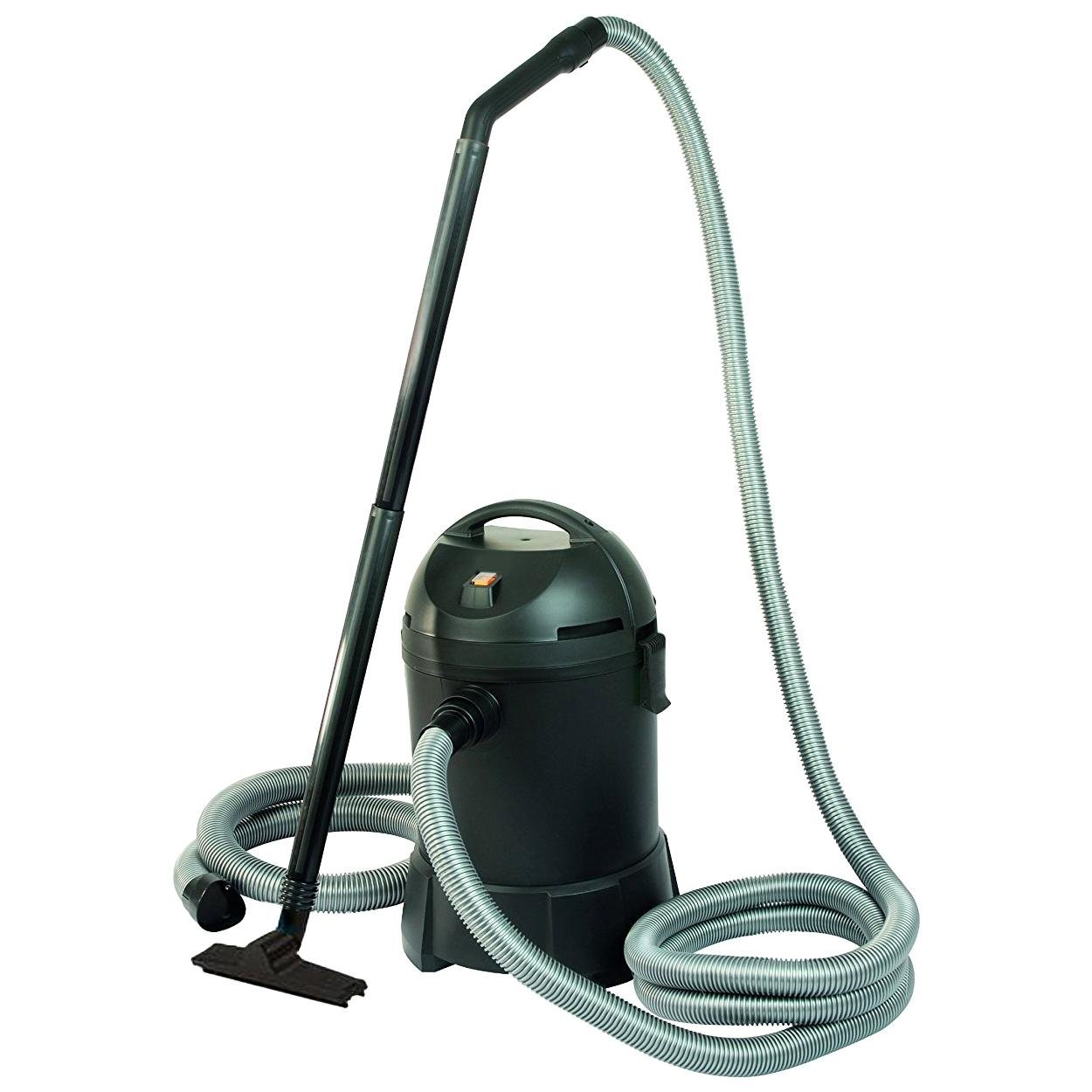 Heavy duty 1400watt 30 litre garden pond vacuum cleaner for Garden pond vacuum review