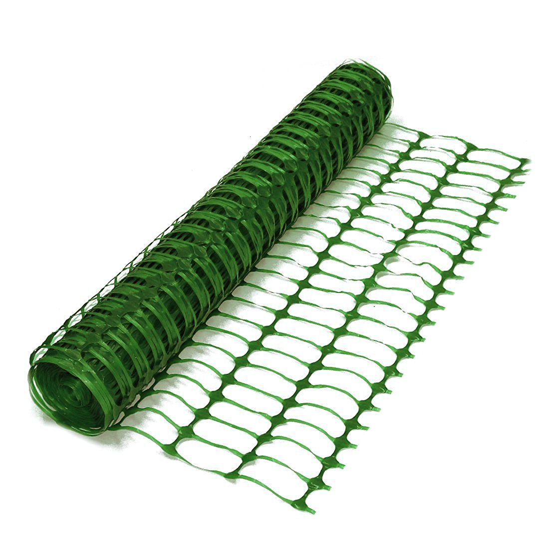 Heavy Duty Green Safety Barrier Mesh Fencing 1m X 50m