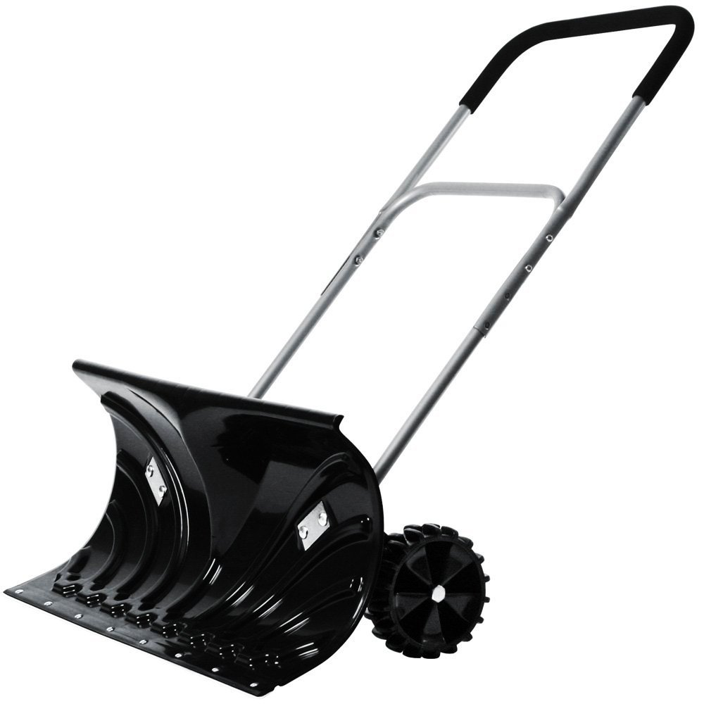 heavy duty snow plow push snow shovel plough oypla stocking the very best in toys. Black Bedroom Furniture Sets. Home Design Ideas