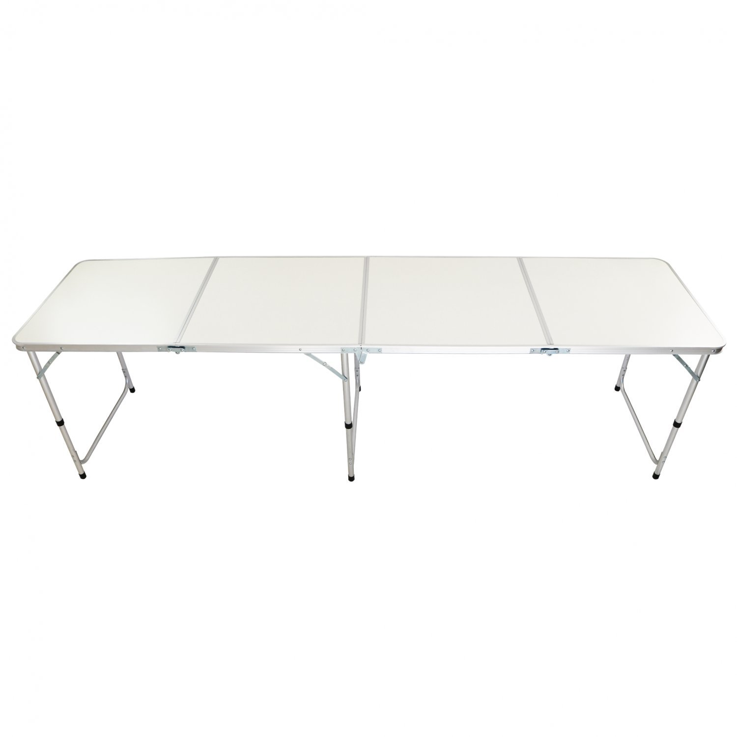 1.8M 6FT  Folding Outdoor Camping Kitchen Work Top Table with Hight Adjustment