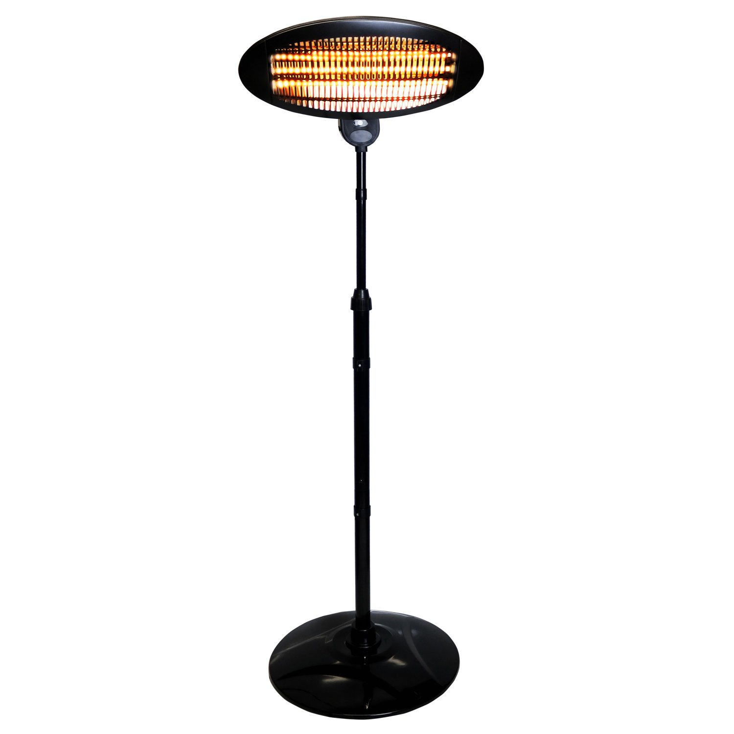 2KW Quartz Free Standing Outdoor Electric Garden Patio Heater 3999 Oypla Stocking The