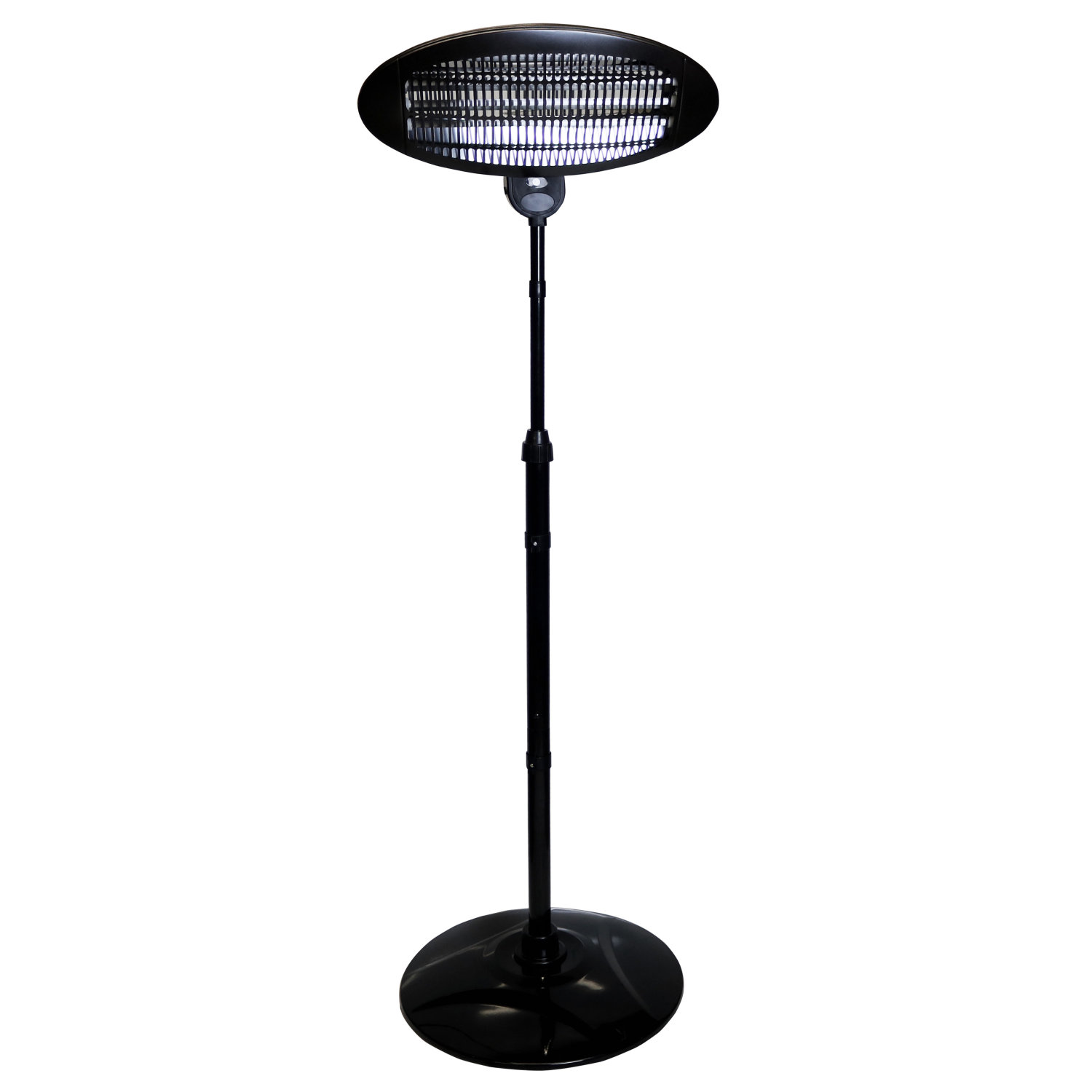 2kw quartz free standing outdoor electric garden patio for Outdoor patio heaters electric
