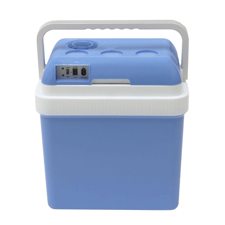 616d80d2af3 24L 240V AC   12V DC Coolbox Hot Cold Portable Electric Cool Box ...