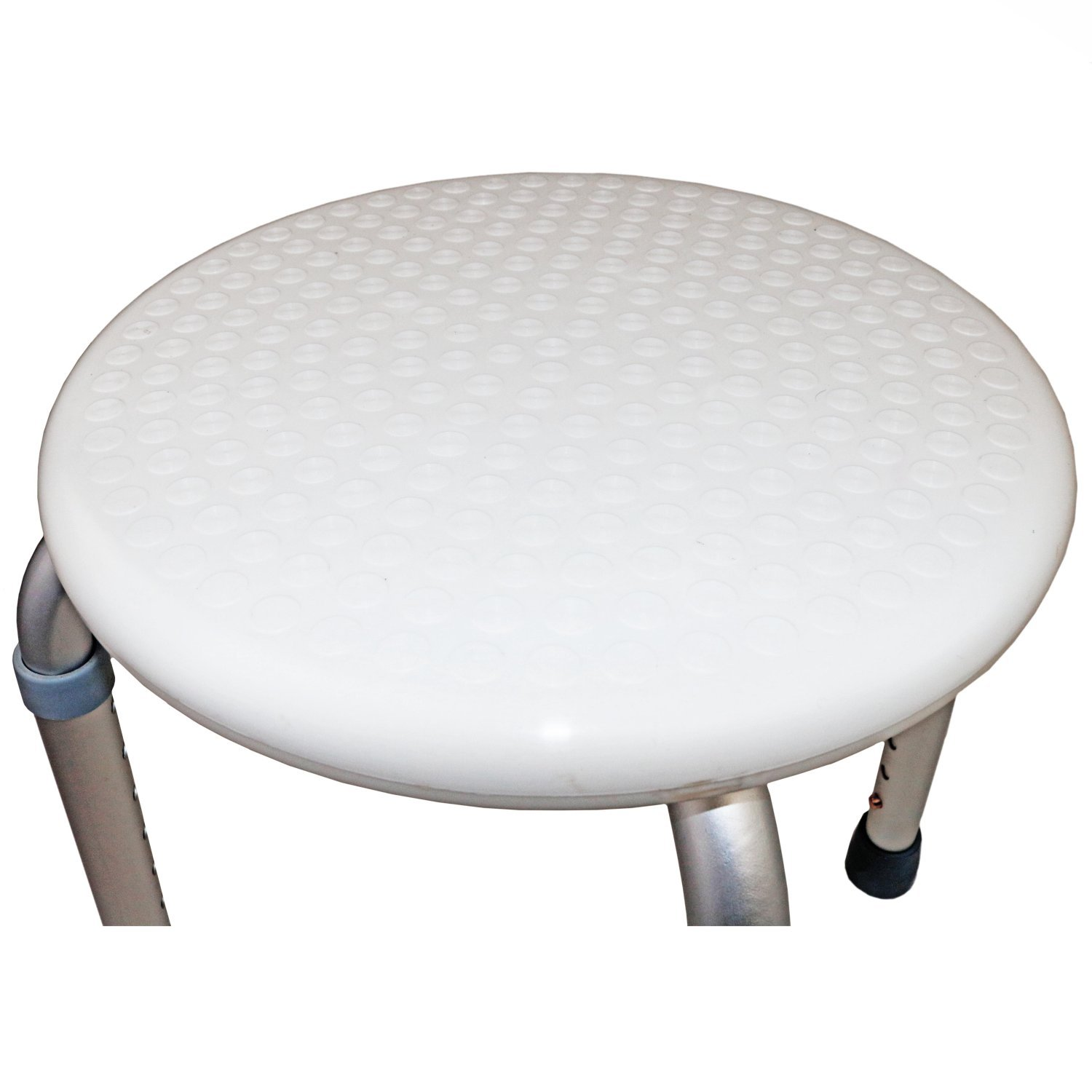 Height Adjustable Round Shower Stool Seat Disability Aid - £17.99 ...