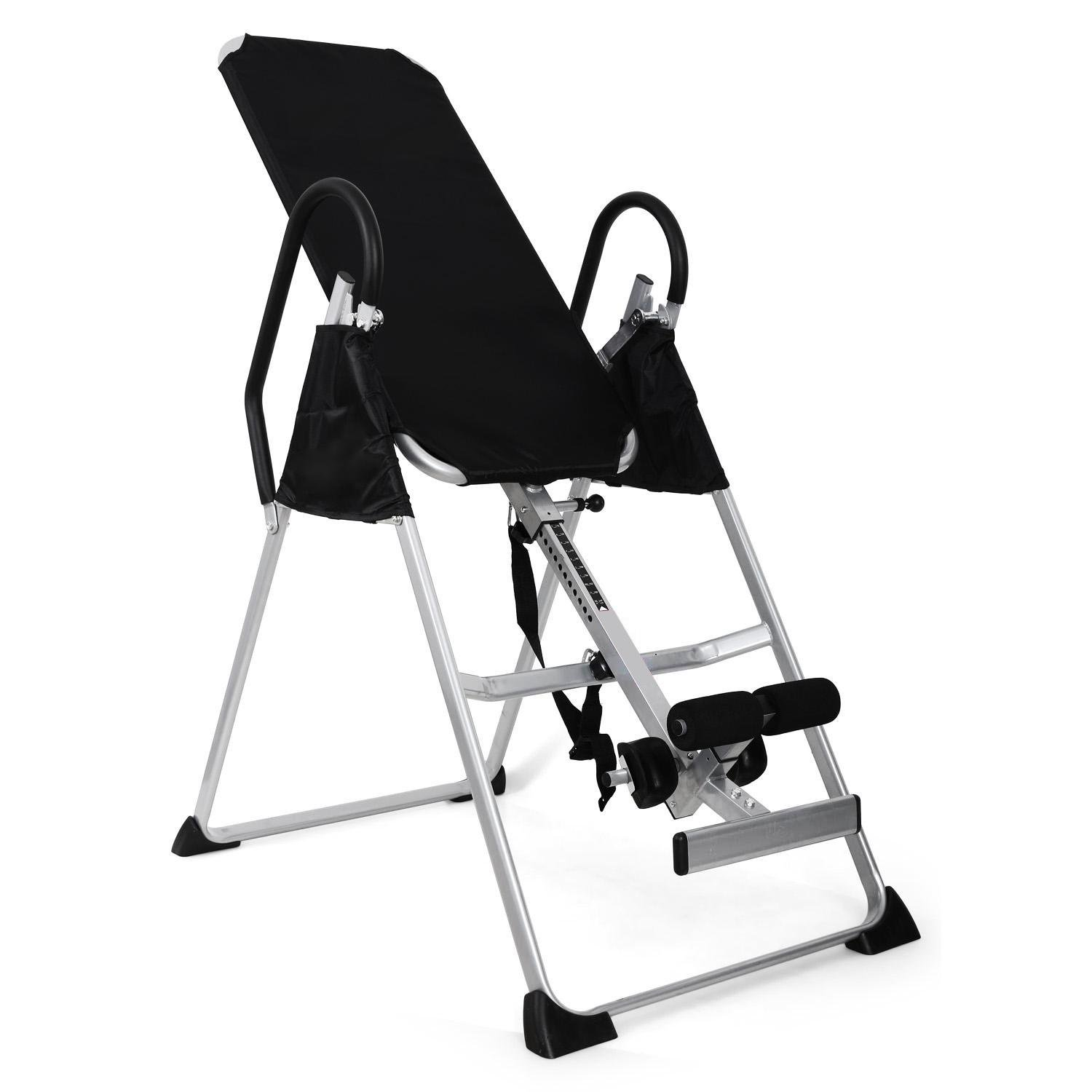 Inversion Invert Therapy Exercise Table Black/Silver