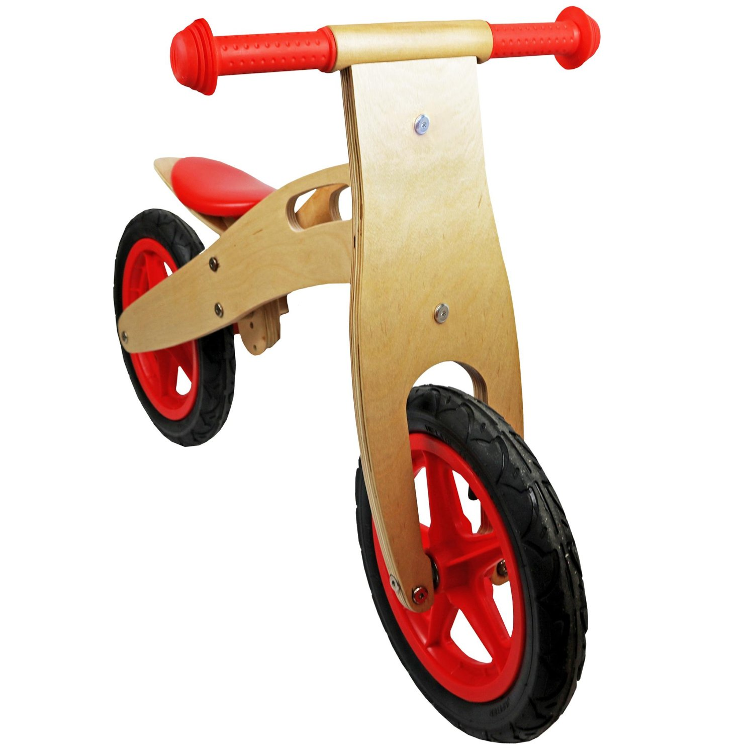 Kids Red Wooden Balance Training Bike Cycle Bicycle 163 36