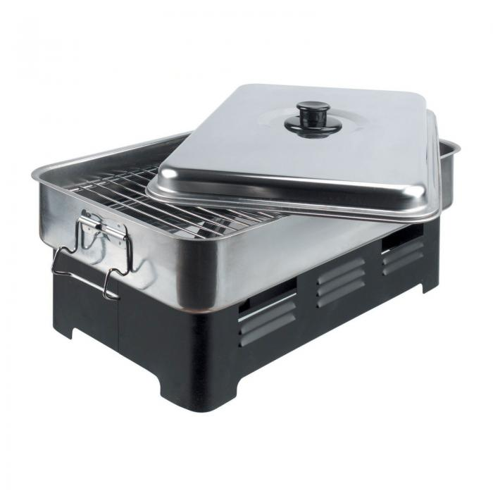 Outdoor Camping Smoker Cooker For Wood Chips Fish Meat
