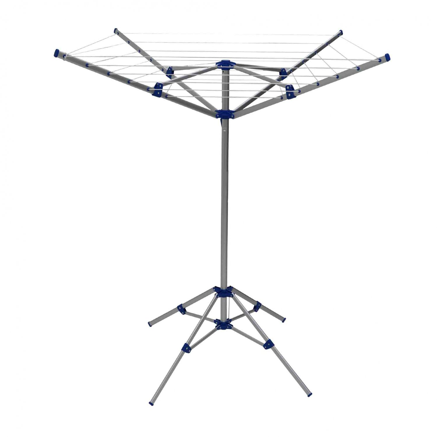 15m 4 arm lightweight aluminium rotary airer portable. Black Bedroom Furniture Sets. Home Design Ideas