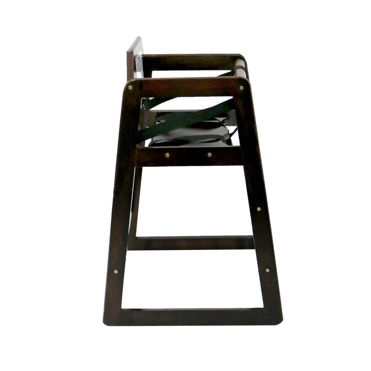 Kids Wooden High Chair Dark Brown £24 99 Oypla Stocking