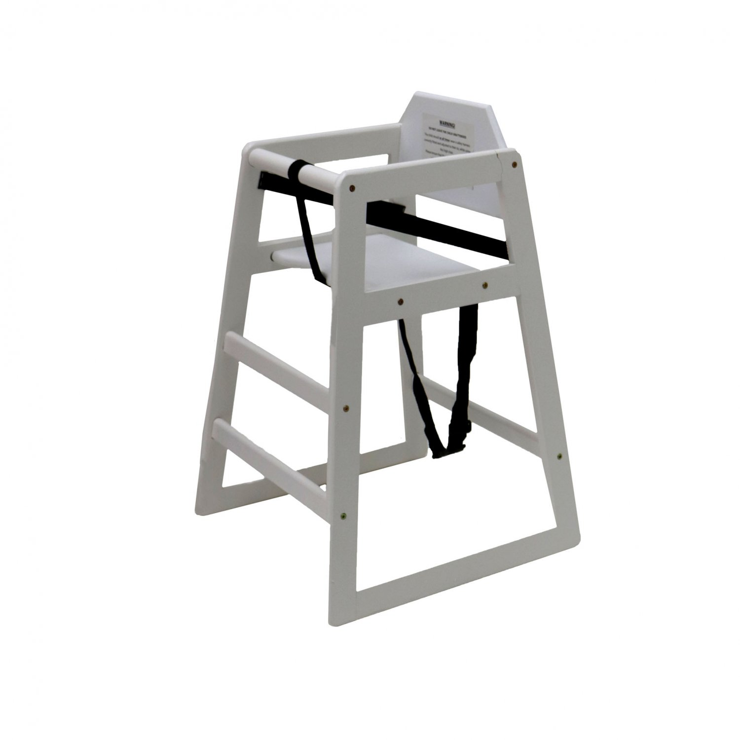 Kids wooden high chair white oypla stocking for White kids chair