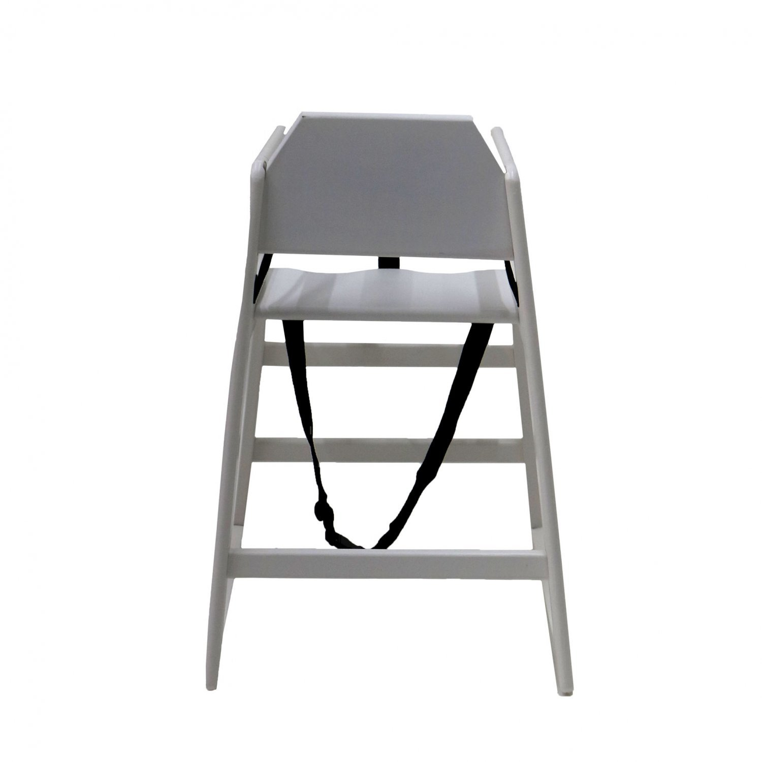 Kids Wooden High Chair White