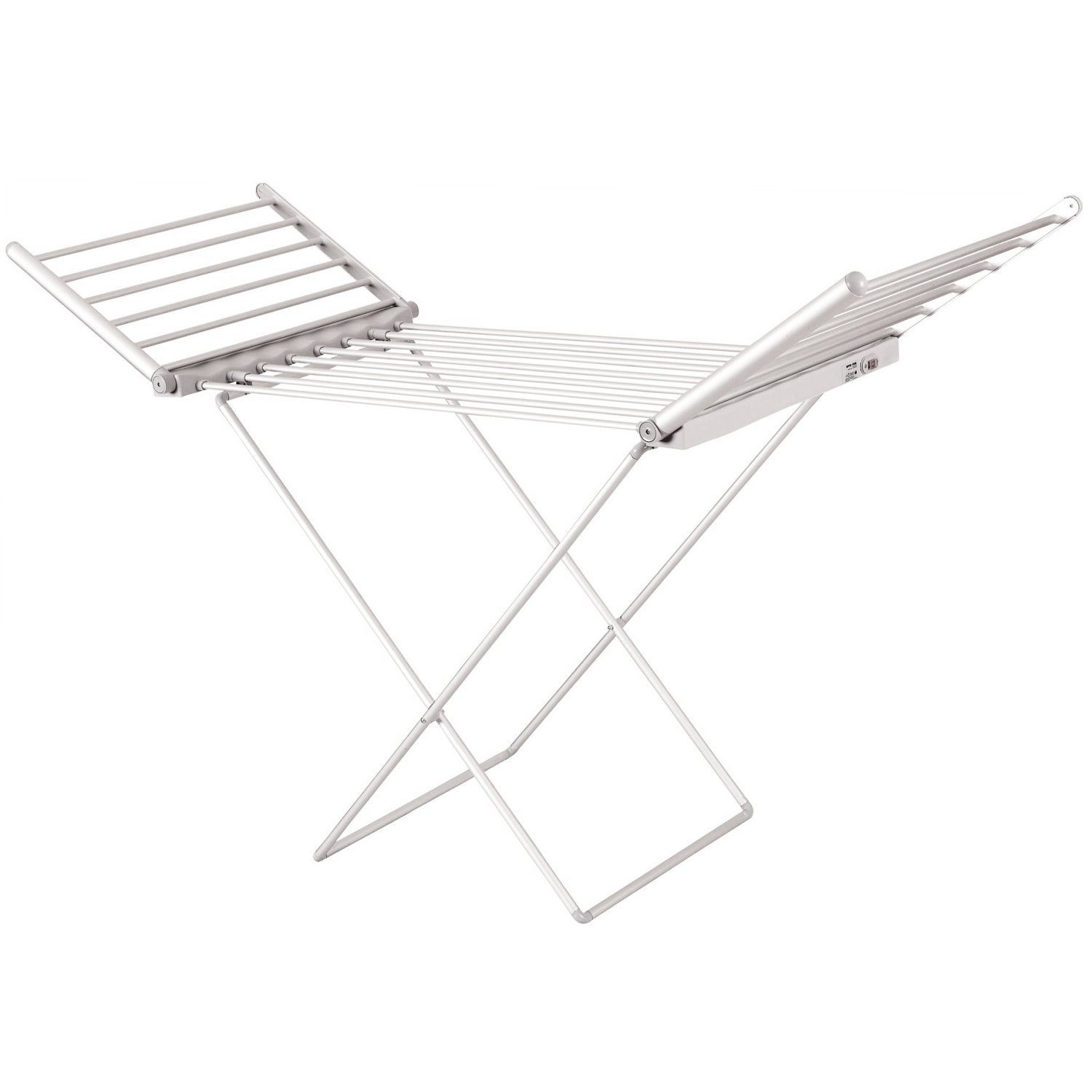 New Electric Extendable Heated Folding Clothes Horse