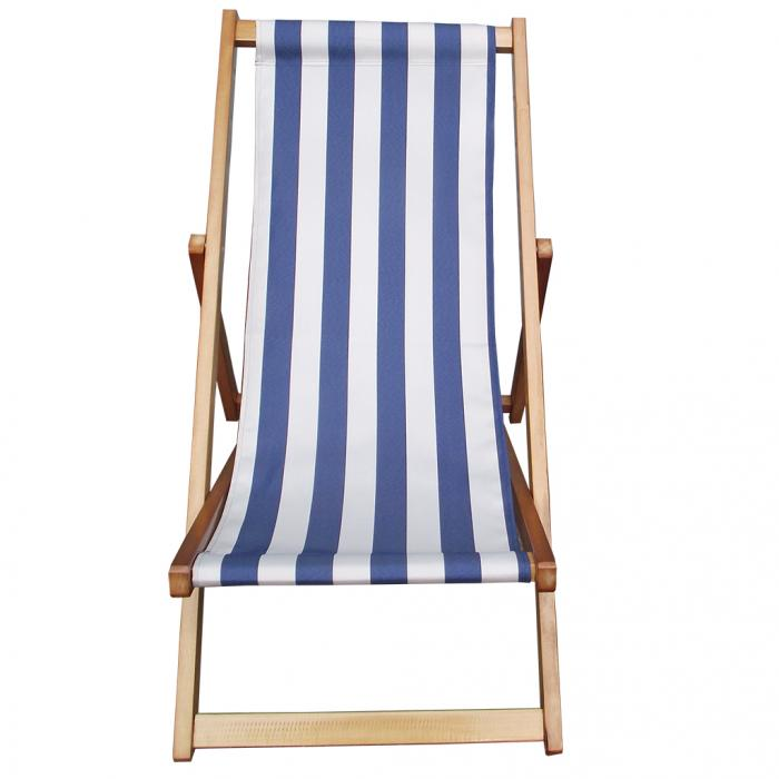 Traditional Folding Hardwood Garden Beach Deck Chairs