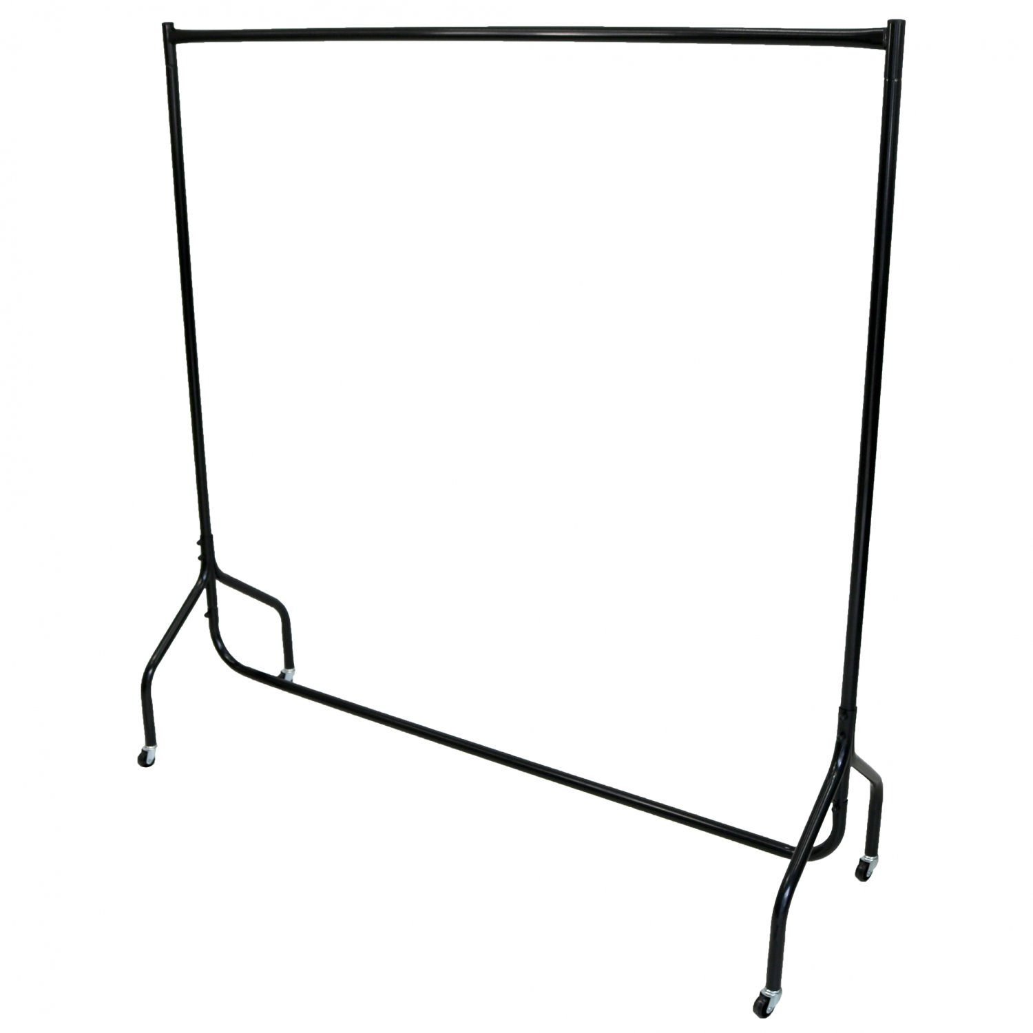 SUPER Heavy Duty WHITE Clothes Rail 3ft Long x 5ft High Storage Hanging Display