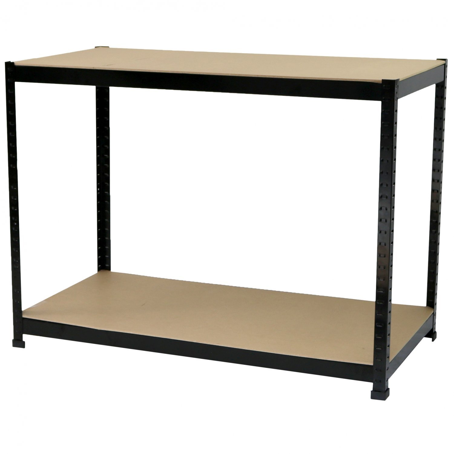 Industrial Heavy Duty Steel Workbench Table Shelving