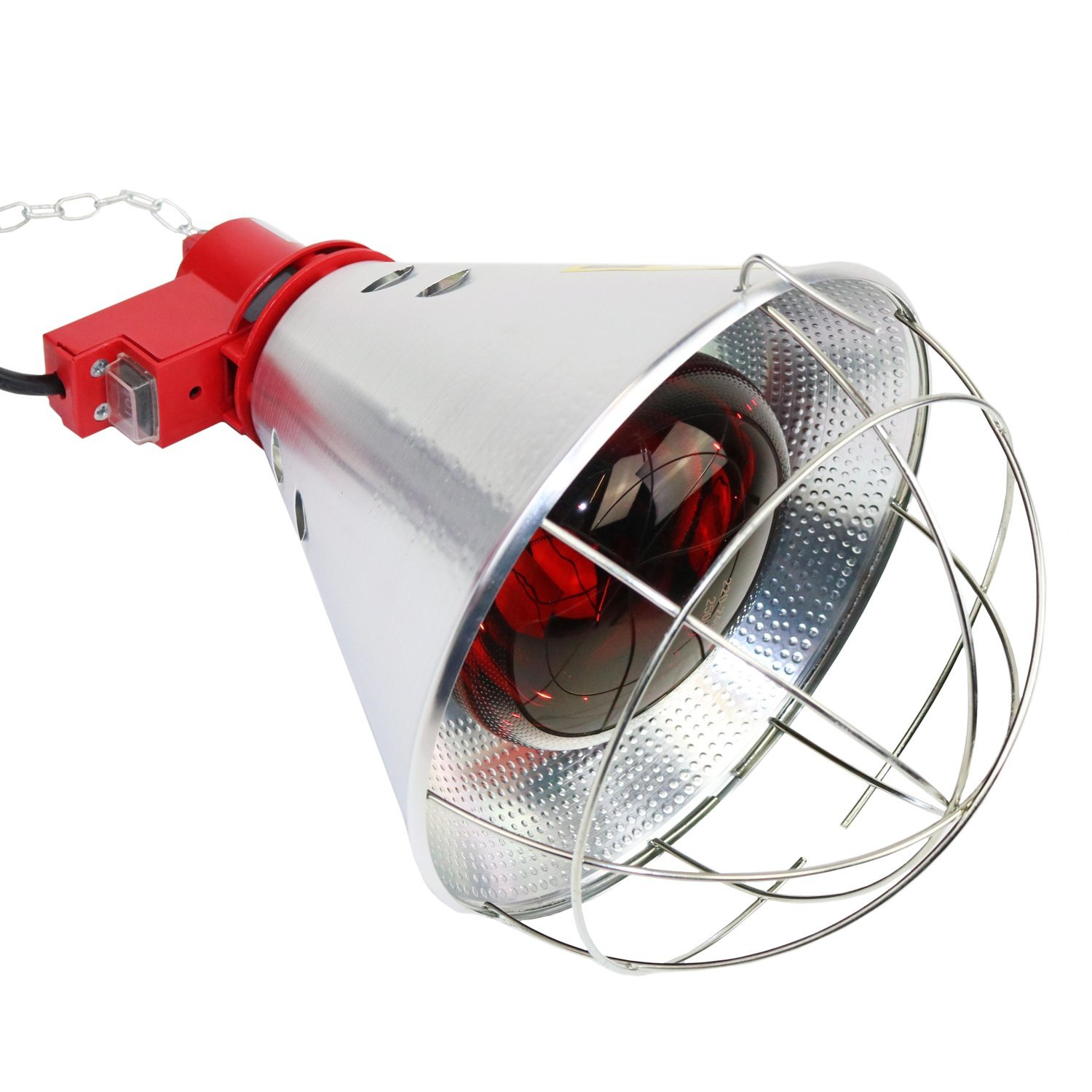 Poultry Heat Incubator Lamp 250w W Red Bulb For Chicks