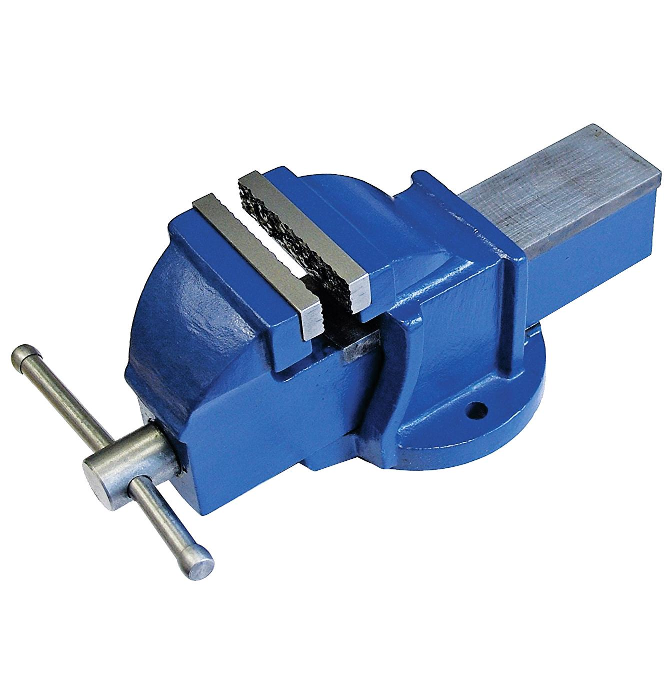 What Is A Bench Vise Used For: 4 100mm Jaw Bench Vice Workshop Clamp Work Bench Table