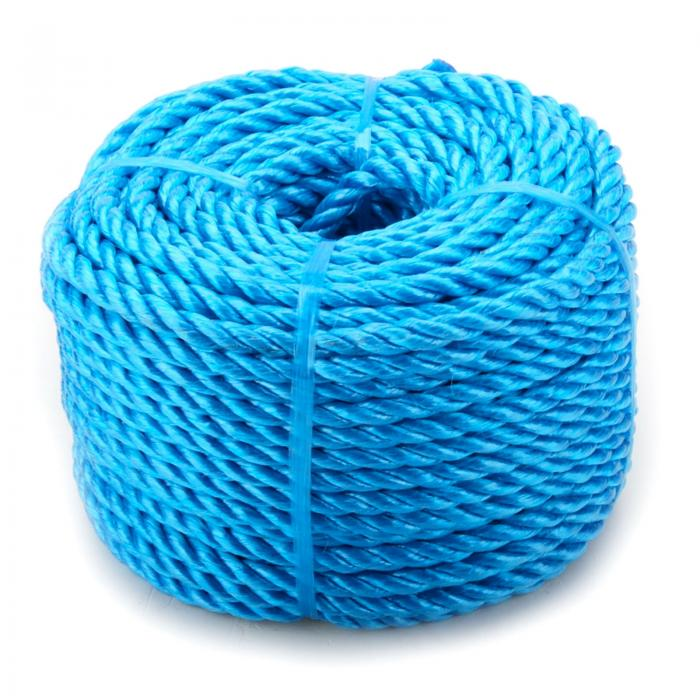 6mm x 220m Blue Heavy Duty Poly Rope Coils Polypropylene PP - £14.99 ...