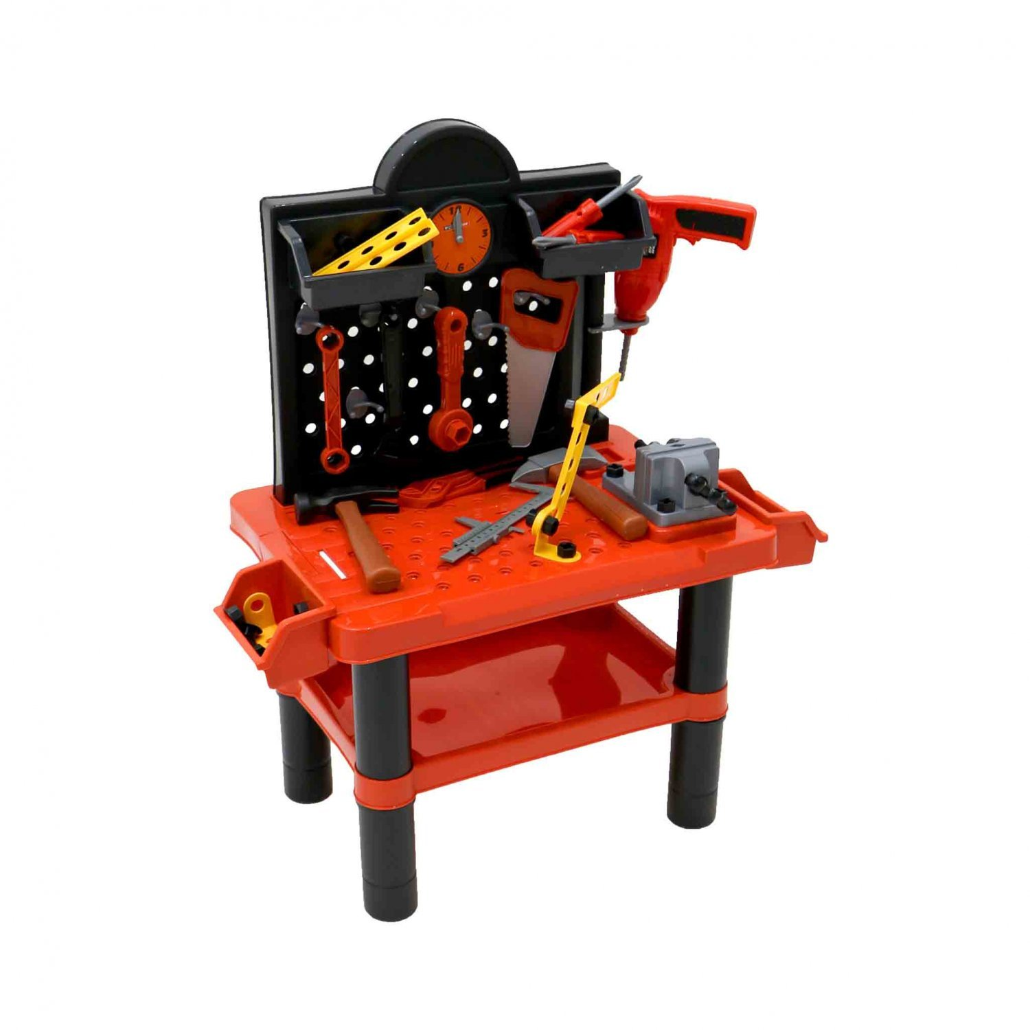 Childrens Kids Play Toy Workbench Tools Kit Workshop Playset Oypla Stocking The