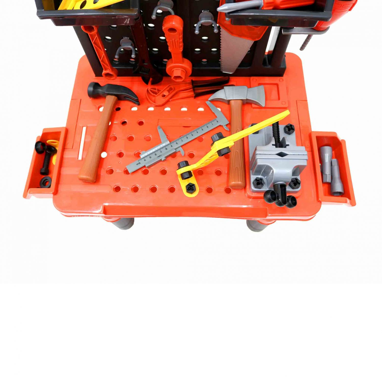 Childrens Kids Play Toy Workbench Tools Kit Workshop