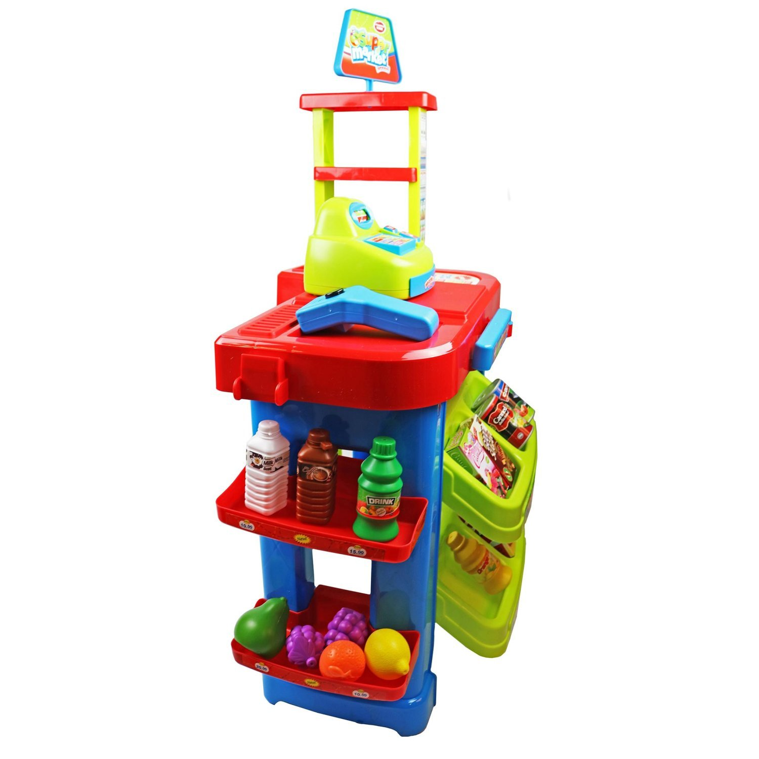 Best Play Toys : Childrens kids supermarket shop grocery pretend toy play