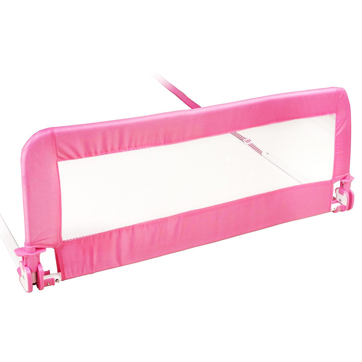 NEW 150cm Pink Baby Child Toddler Bed Rail Safety
