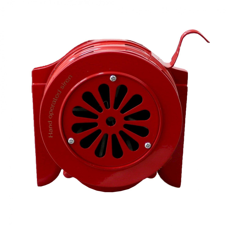 Hand Operated Crank Air Raid Safety Siren Fire Emergency ...