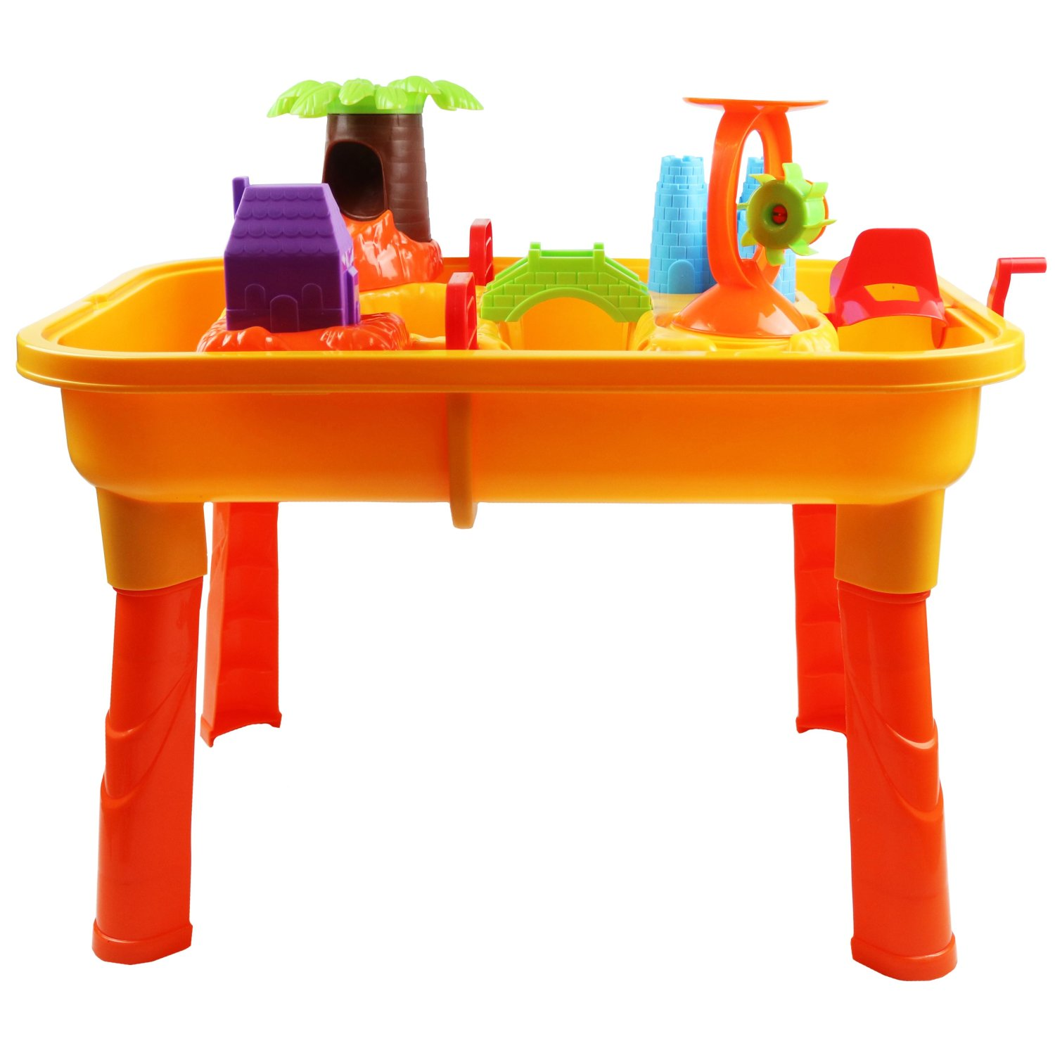 Table Top Toys For Preschoolers : Toddlers kids childrens sand water table toy with