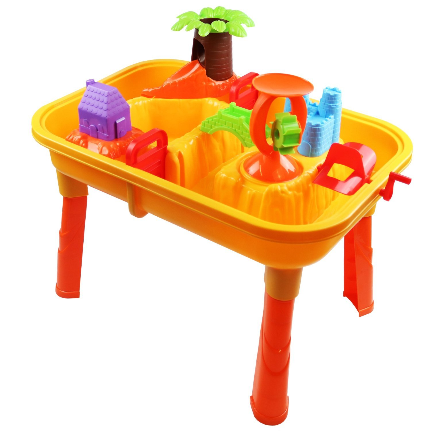 Best Water Toys For Kids : Toddlers kids childrens sand water table toy with