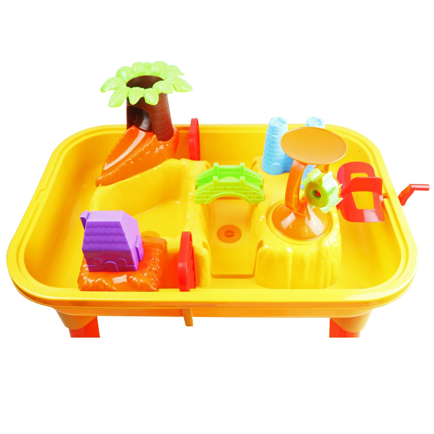Toddlers Kids Childrens Sand Water Table Toy With ...