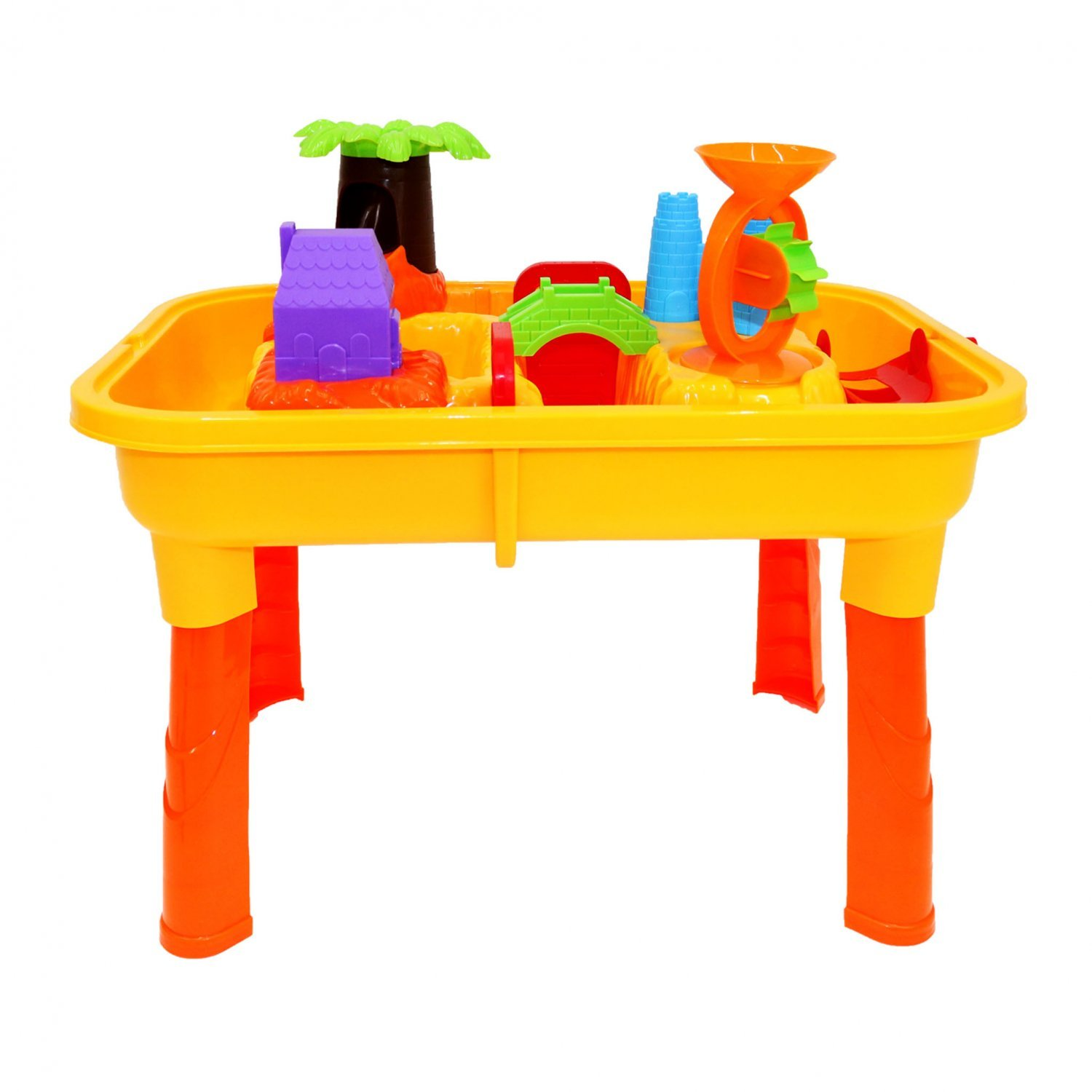 Toys For 20 : Toddlers kids childrens sand water table toy with