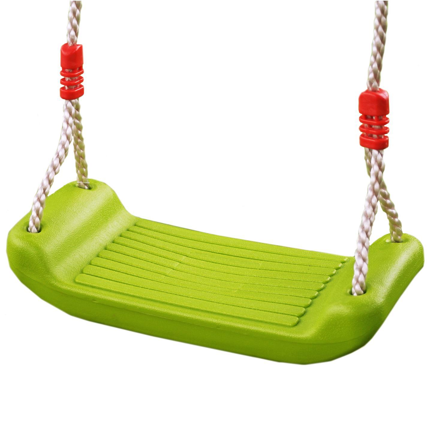 New Childrens Outdoor Plastic Adjustable Garden Swing