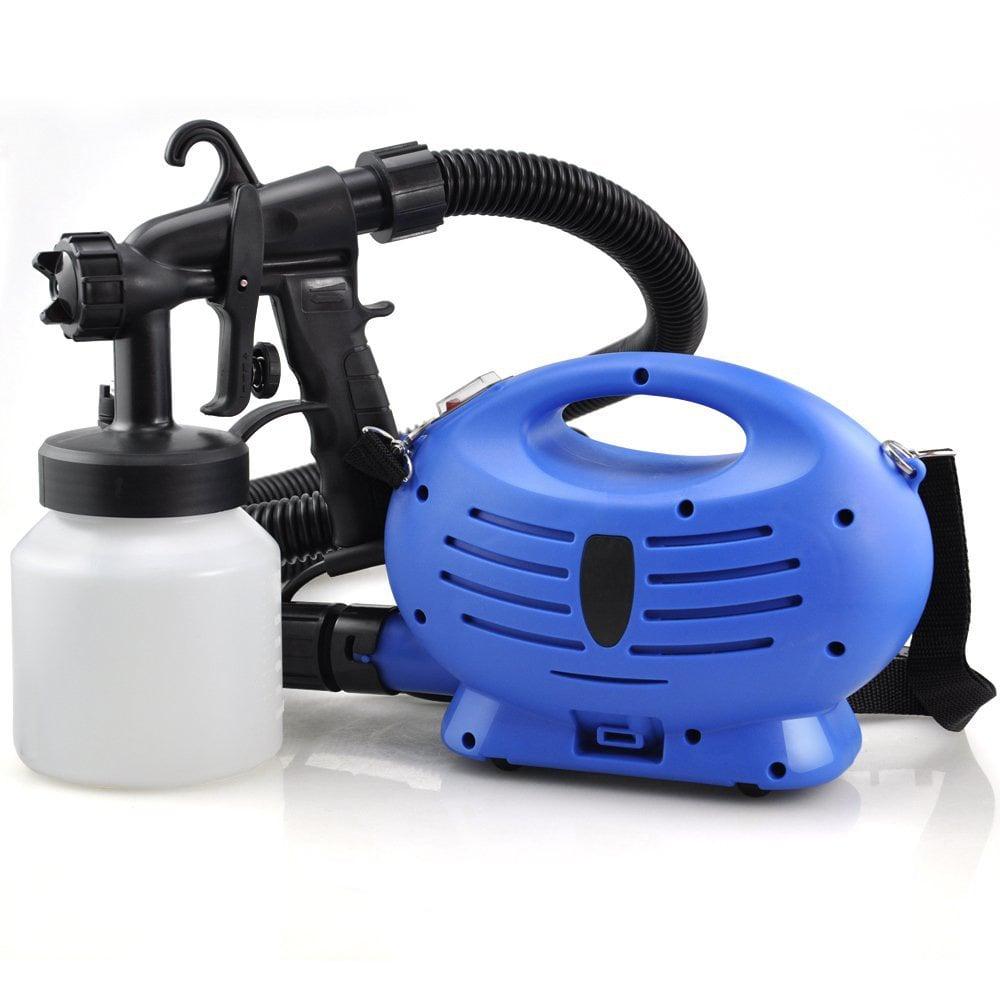 new electric paint sprayer zoom spray gun decorating. Black Bedroom Furniture Sets. Home Design Ideas
