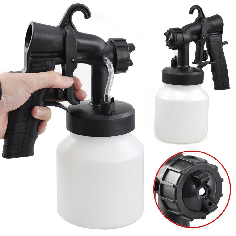 how to clean latex paint spray gun