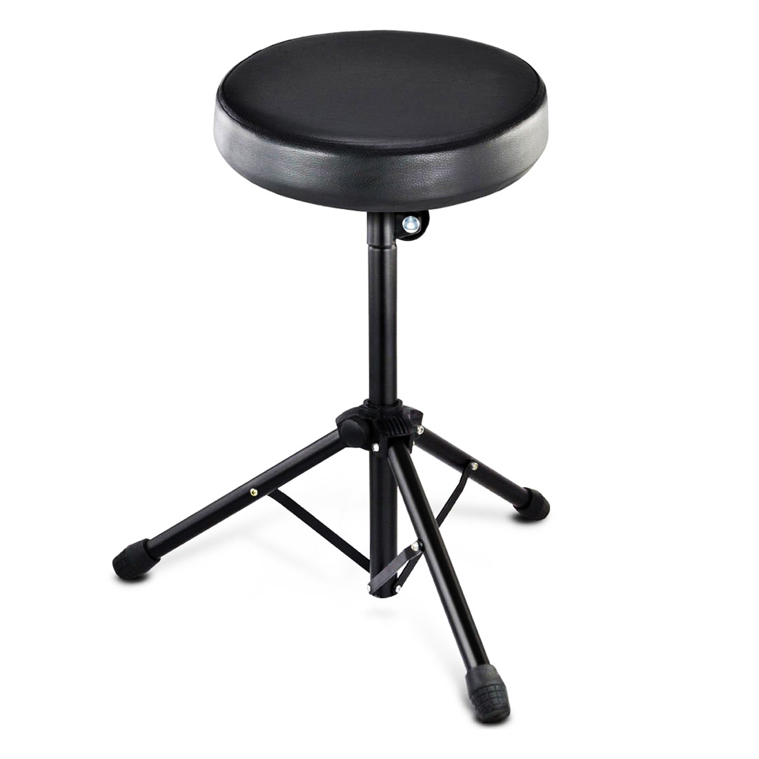 foldable drum stool throne chair seat music piano keyboard oypla stocking the very. Black Bedroom Furniture Sets. Home Design Ideas