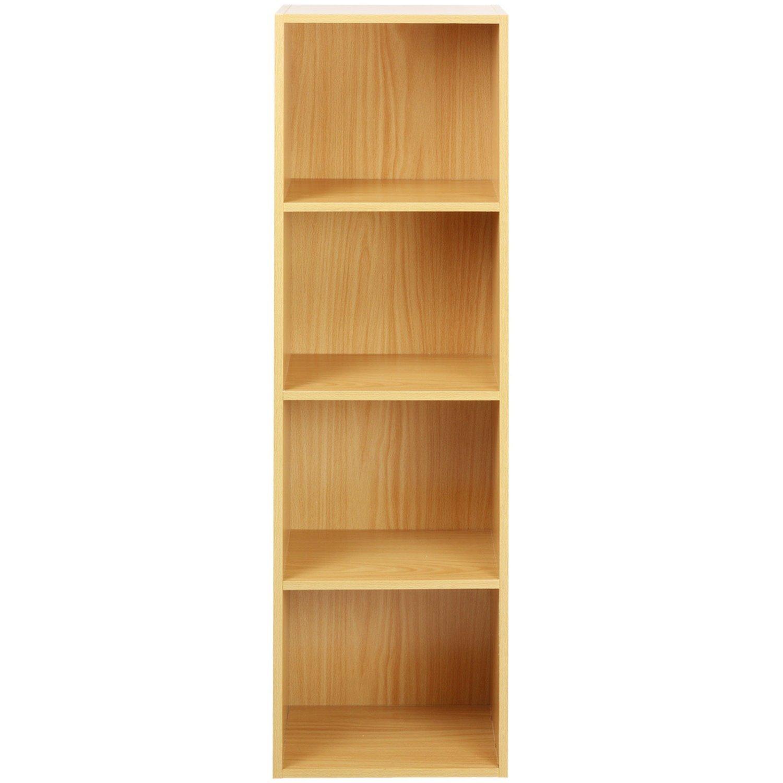 shelf units storage bookcases uk tier set orange home racking co dp office kitchen duty shelving amazon heavy shed bookcase garage