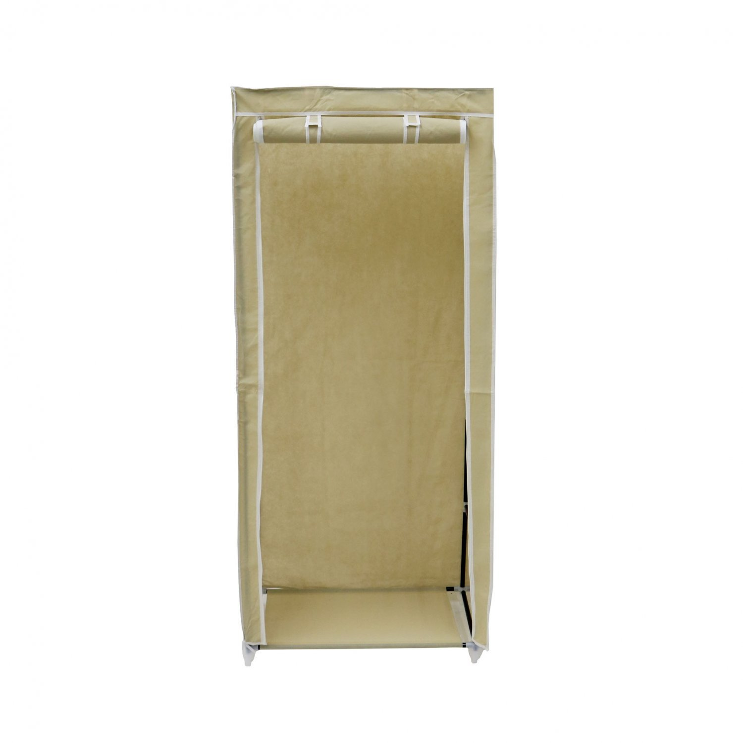 Double Cream Canvas Wardrobe Clothes Rail Hanging Storage Closet 163 19 99 Oypla Stocking The