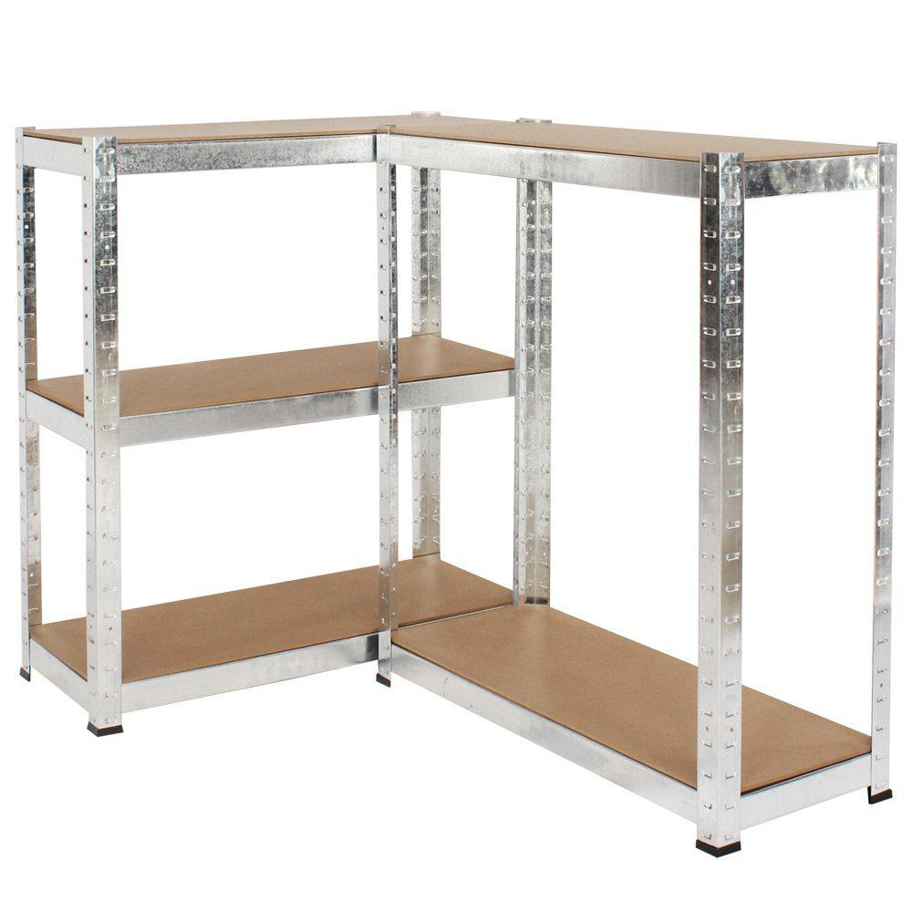 500kg Heavy Duty 5 Tier Metal Storage Garage Shelving