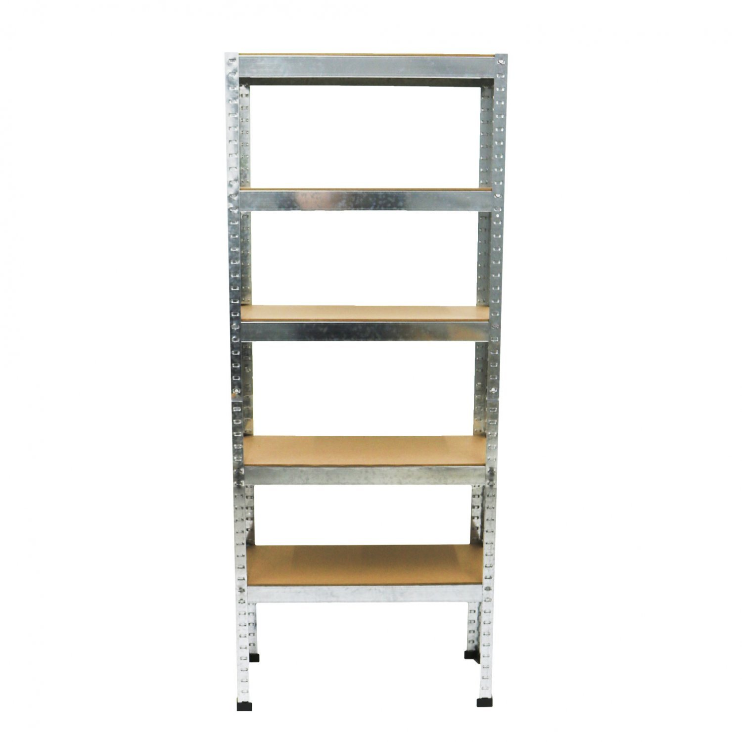 500kg heavy duty 5 tier metal storage garage shelving racking oypla stocking the. Black Bedroom Furniture Sets. Home Design Ideas