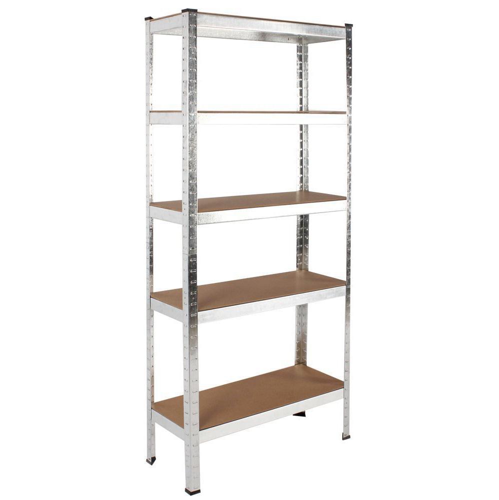Heavy Duty Garage Shelf : New kg heavy duty tier metal storage garage file