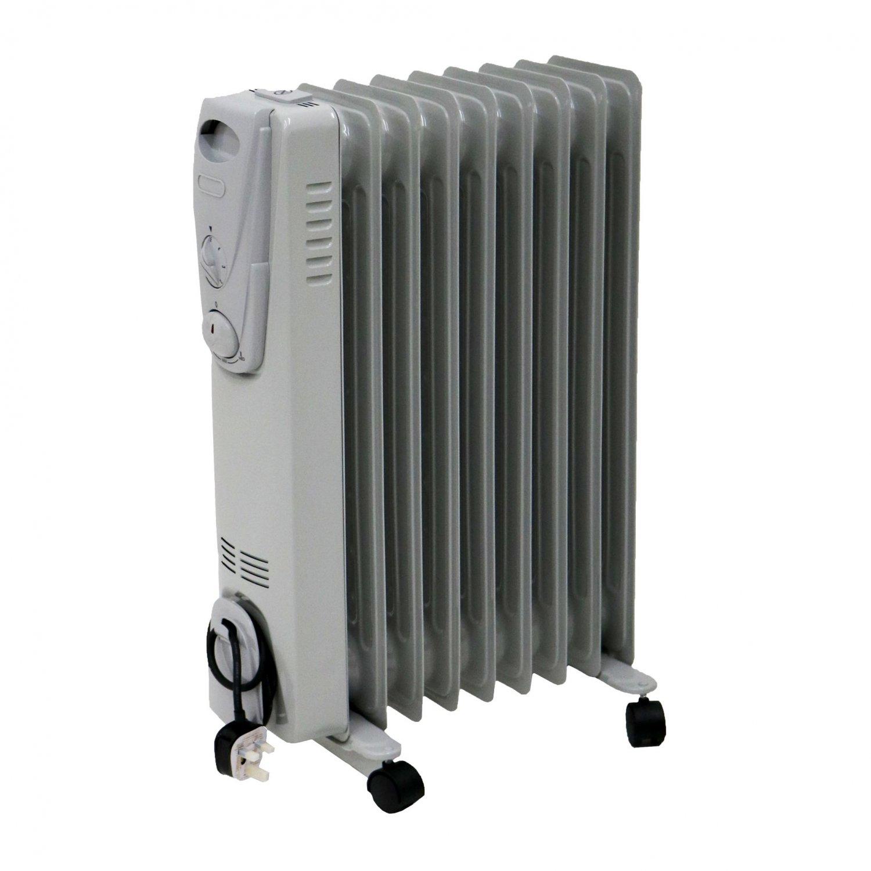 Electric Oil Radiator ~ W fin portable oil filled radiator electric heater