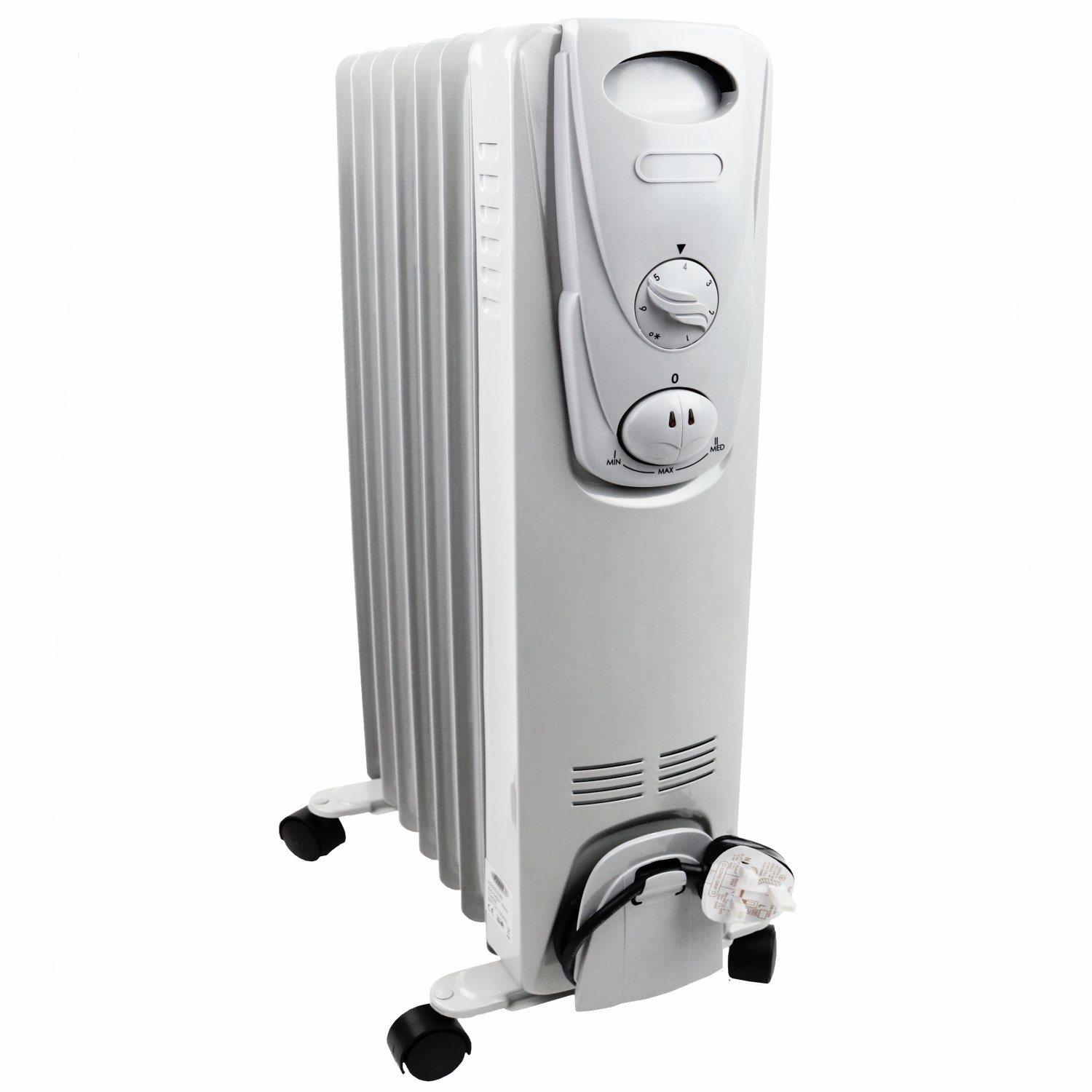 1500w 7 fin portable oil filled radiator electric heater for How much to install a garage heater
